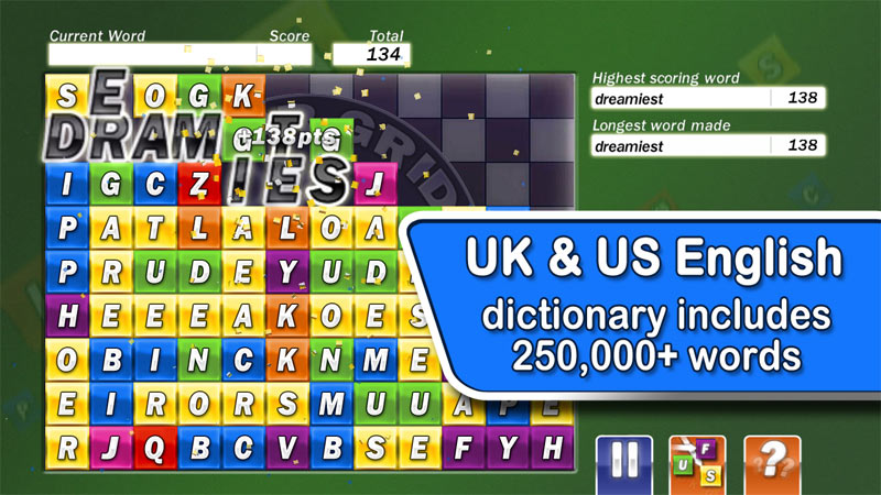 UK & US word lists